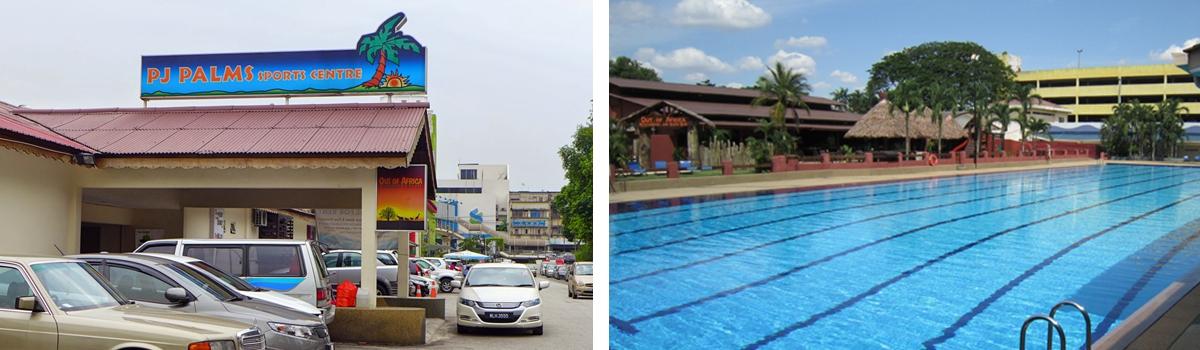 swimming lesson in PJ Palm Sport Center