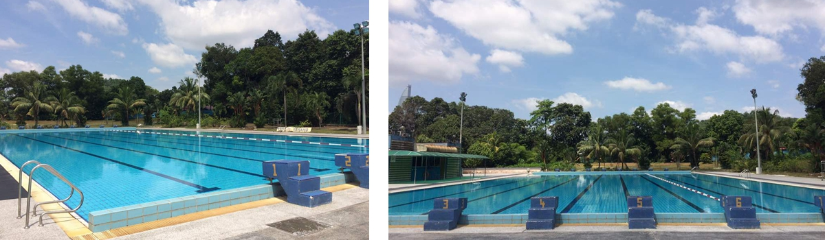 University of Malaya Swimming lesson